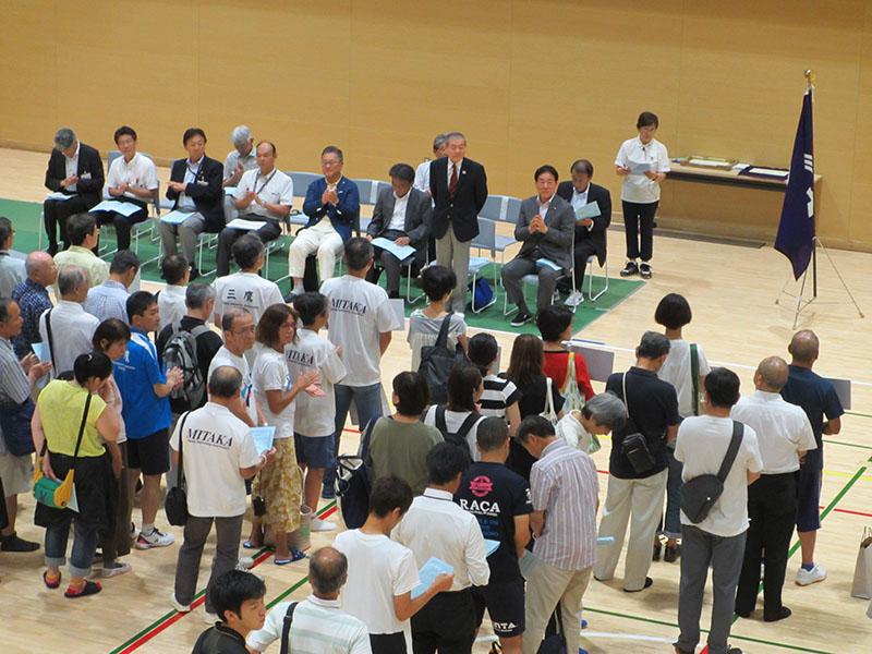 市民体育祭スポーツ大会開会式 |三鷹市体育協会