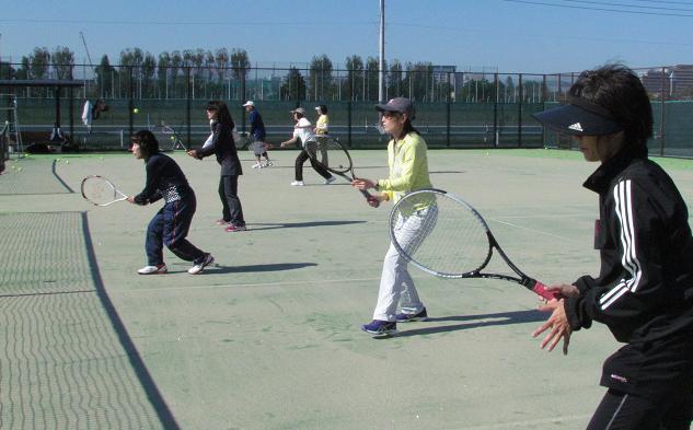 テニス教室 |三鷹市体育協会